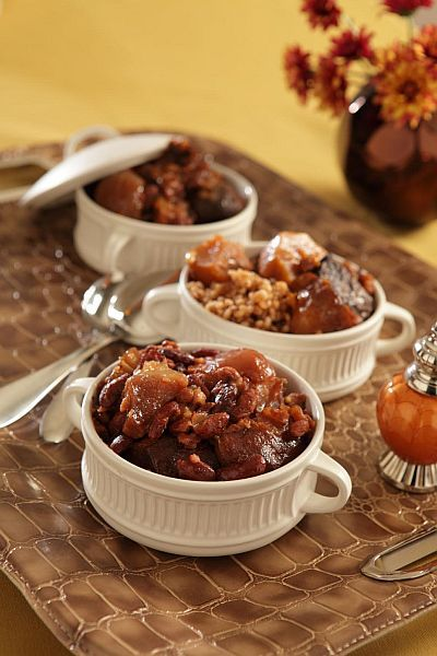 Lazy man's cholent