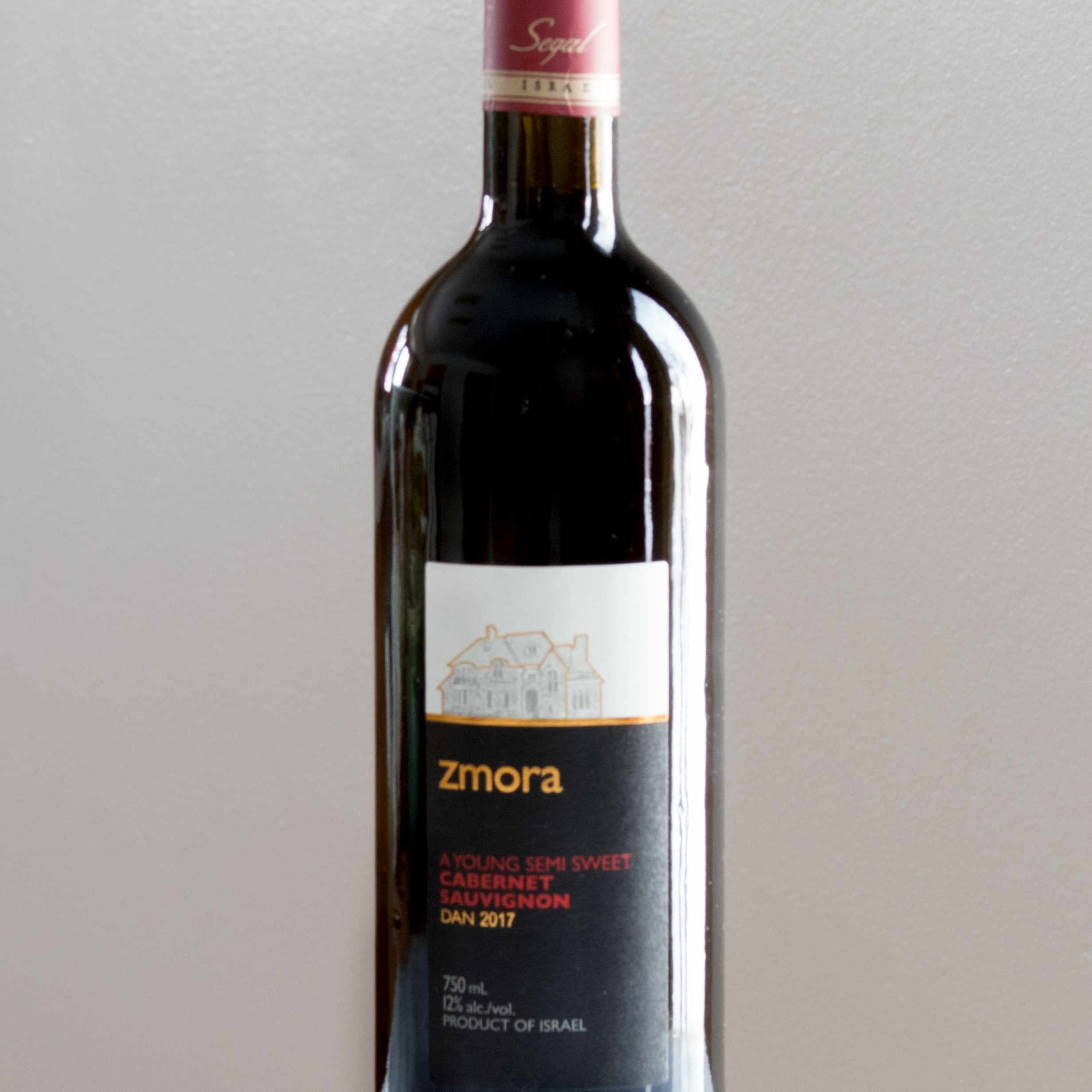Zmora Cabernet Sauvignon Kosher Wine