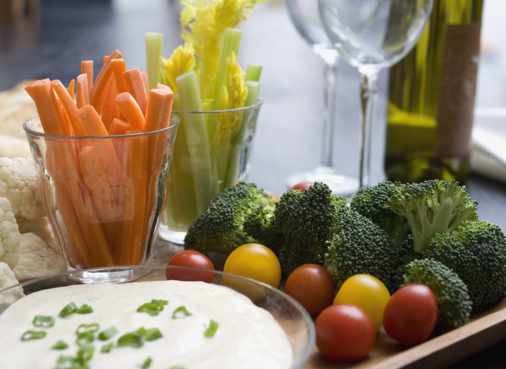 An easy appetizer platter