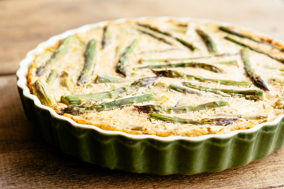 Lamb and Asparagus Frittata