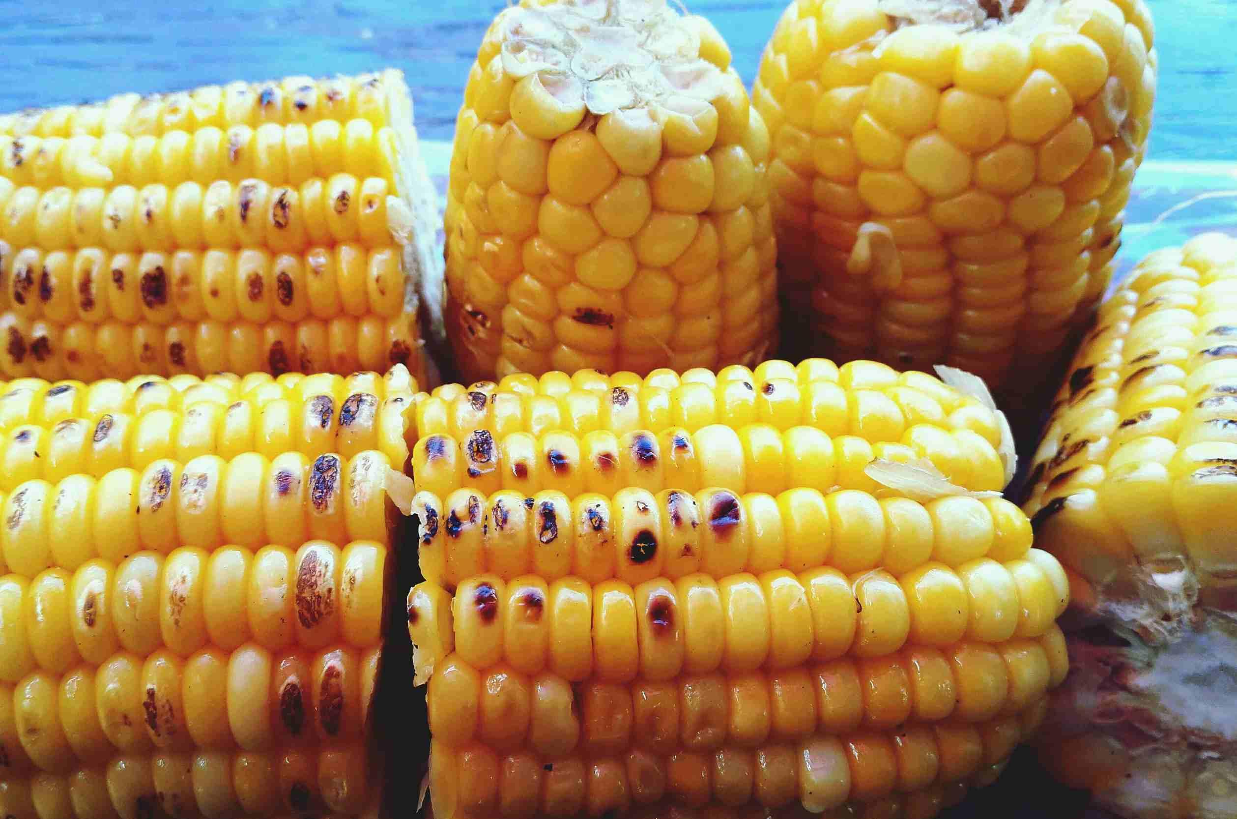 Roasted sweet corn