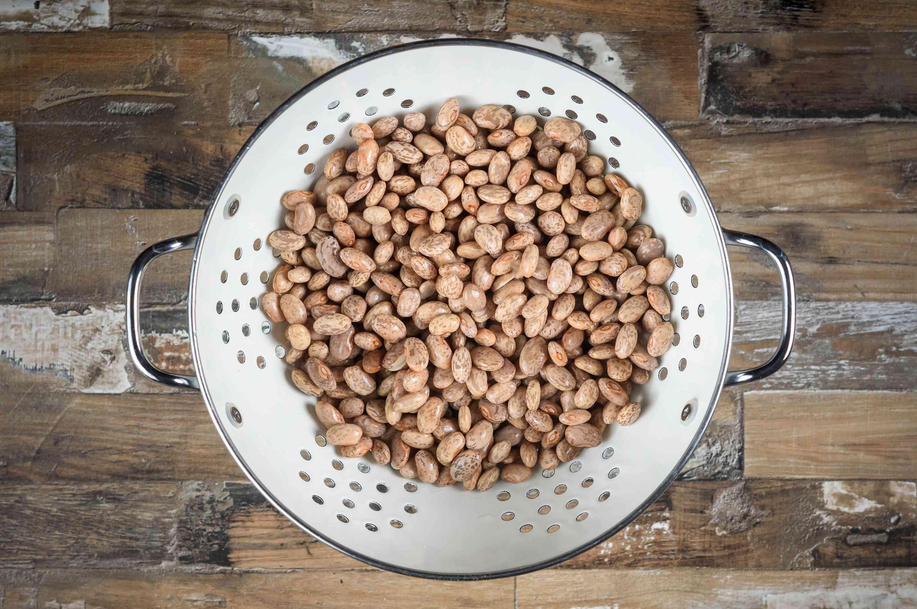 Drain beans