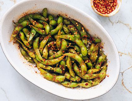 Spicy Edamame (Soy Beans)