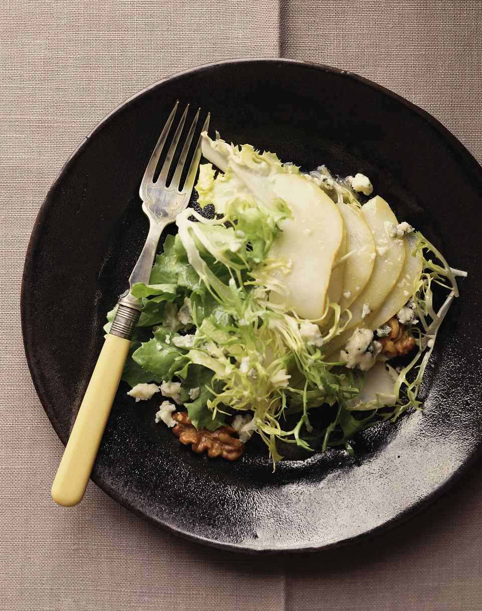 Pear and Greens Salad