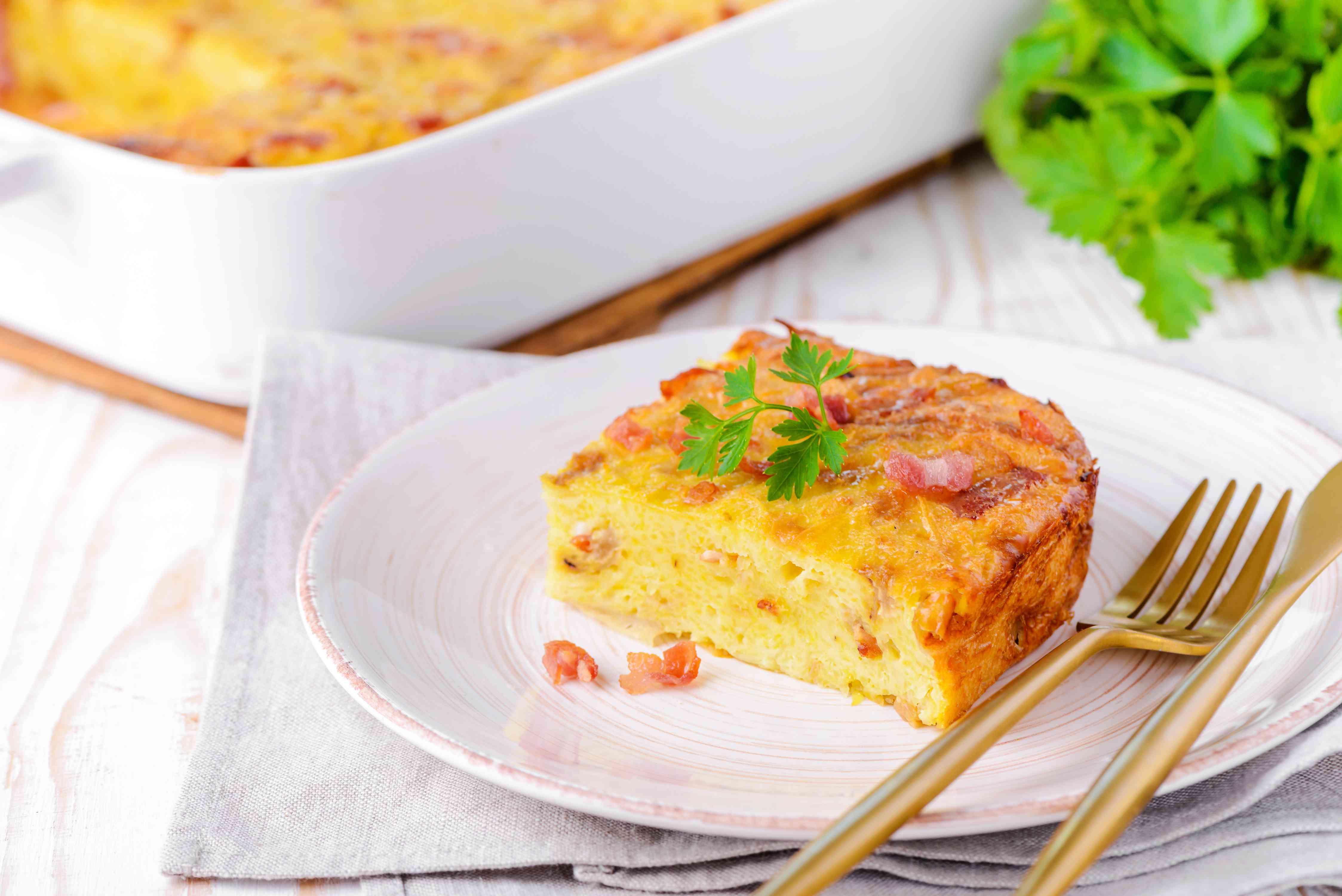 Lithuanian Potato Pudding Kugelis Recipe