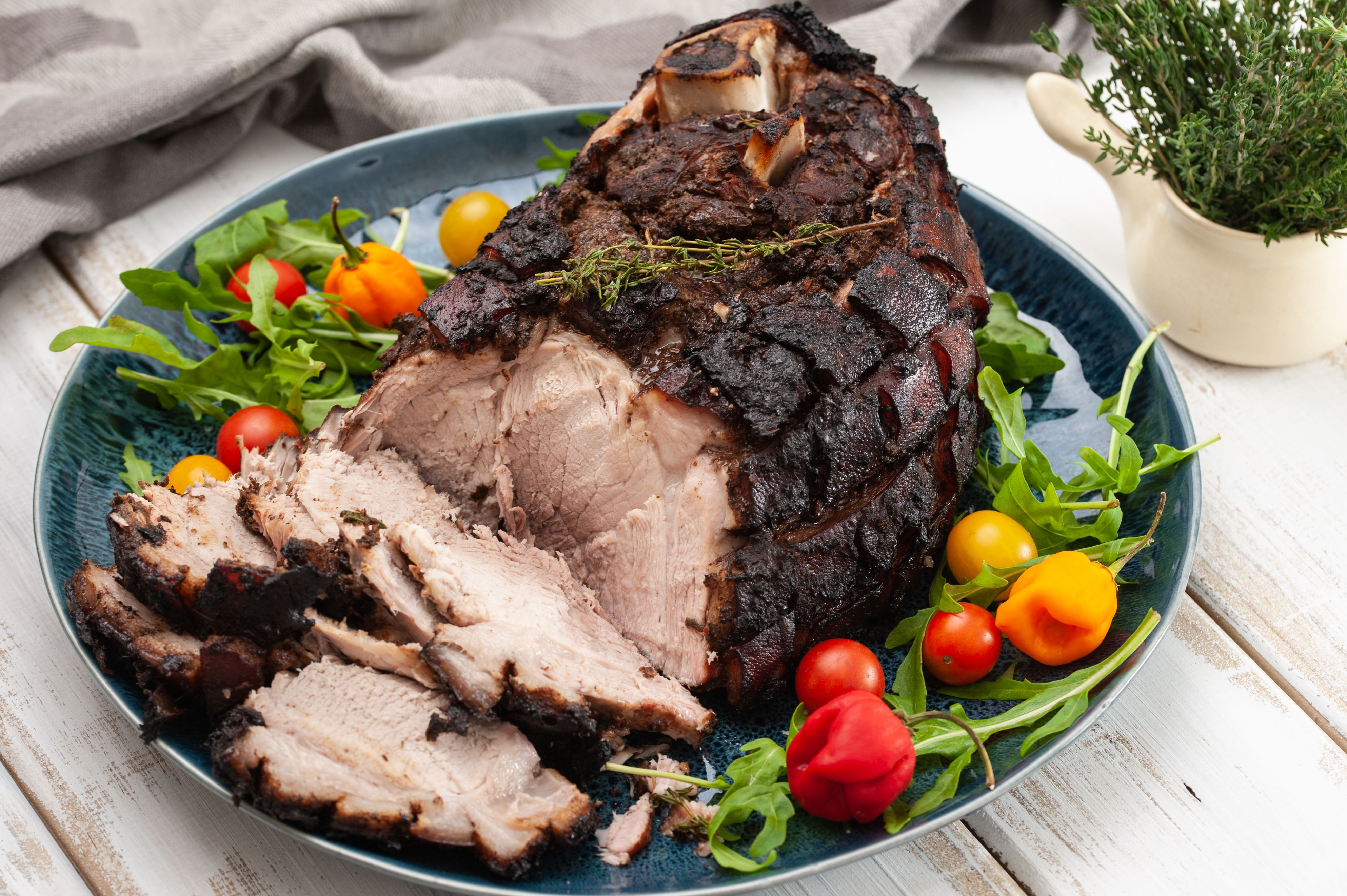 A Recipe to Pull Off Jerk Pork Shoulder in the Oven