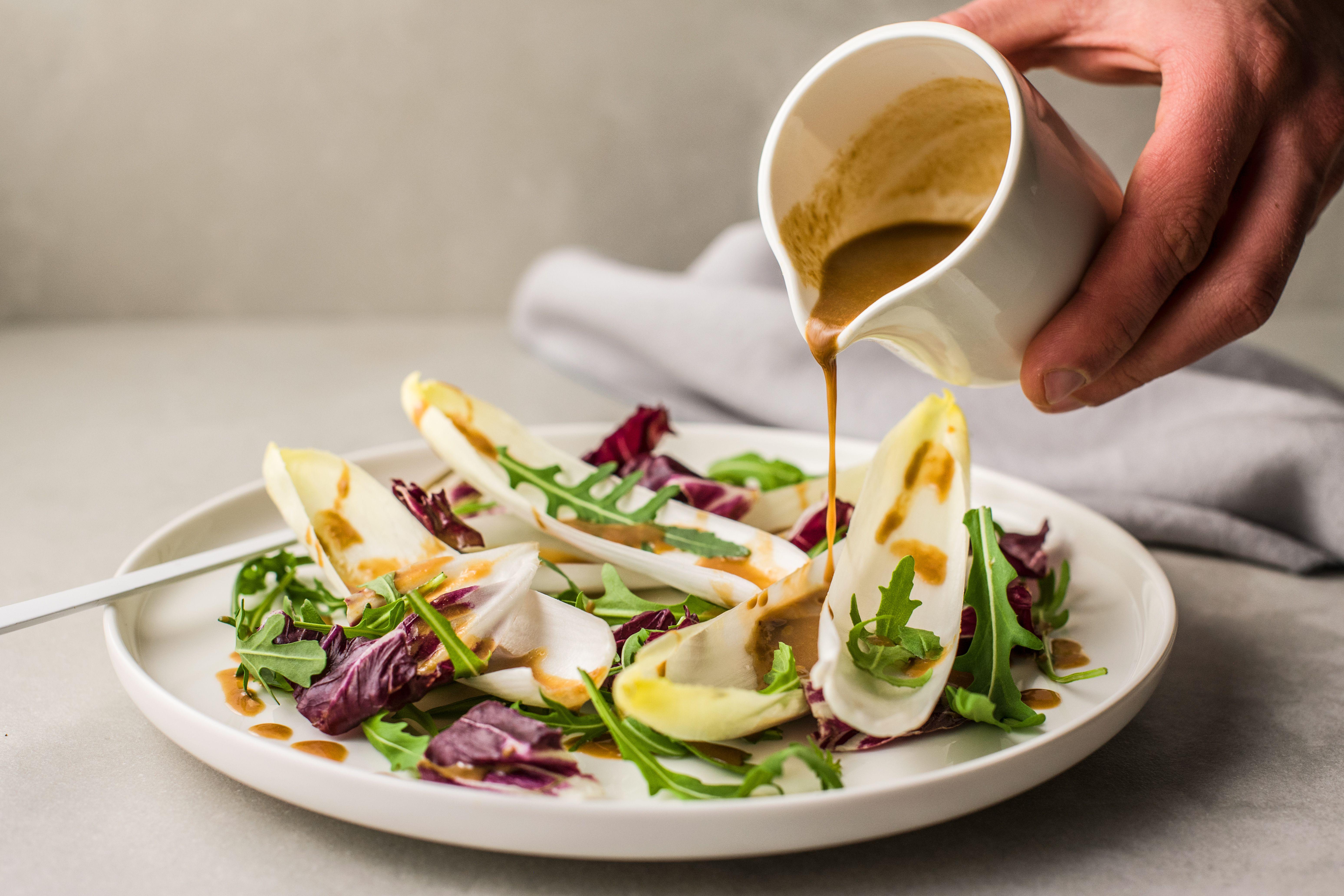 Vegan miso salad dressing