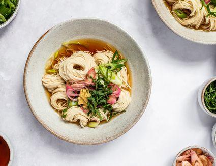Japanese Cold Somen Noodles