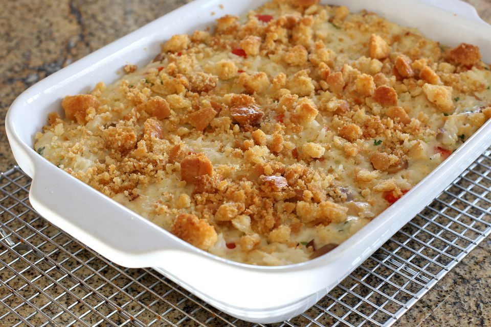Chicken Club Casserole
