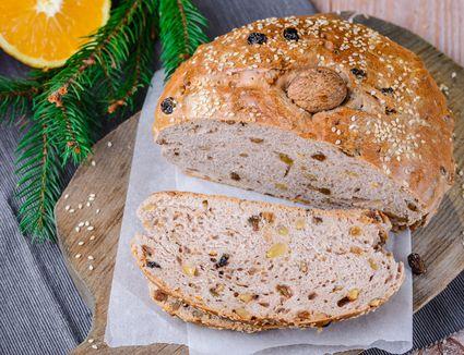 Greek Christmas bread recipe