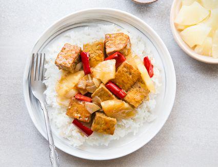 Easy Vegan Sweet-and-Sour Tempeh