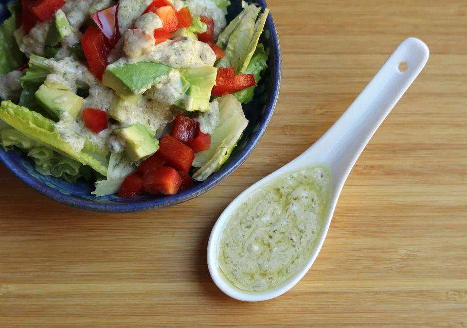 Tahini Caper Salad Dressing
