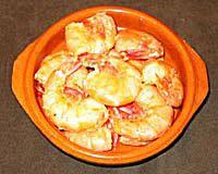 Gambas al Ajillo - Shrimp in Garlic
