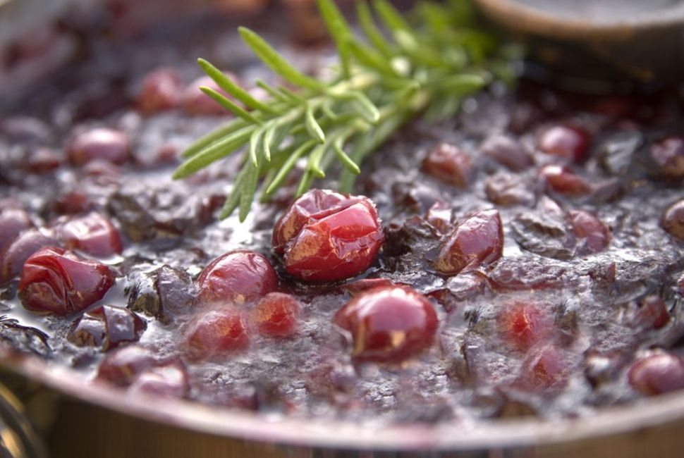 Caramelized Cranberry and Apple Compote