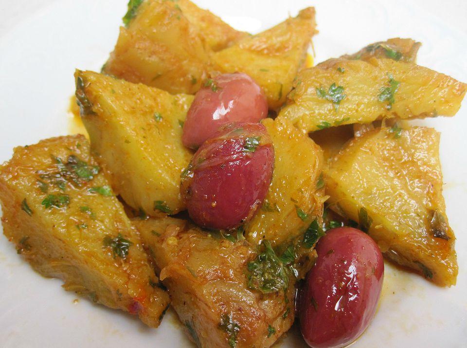 Receta de ensalada de alcachofa marroquí