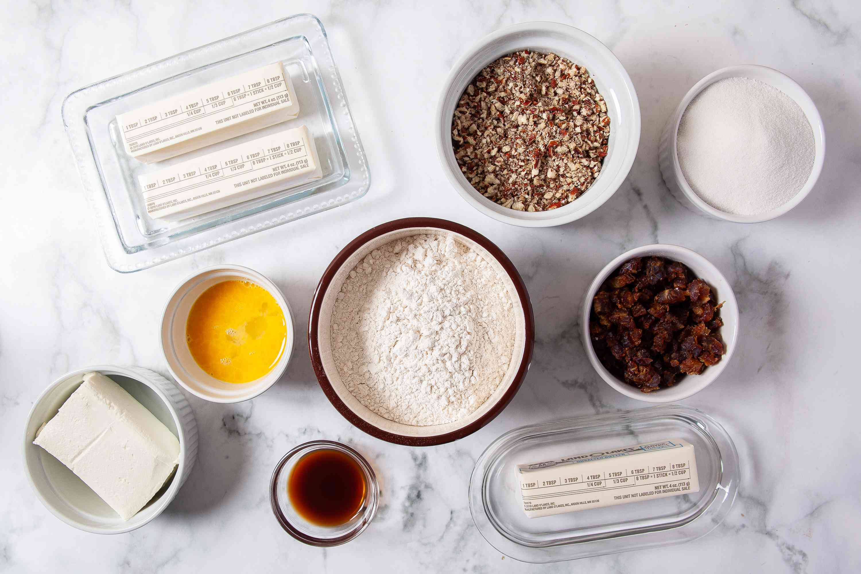 Pecan Tassies ingredients