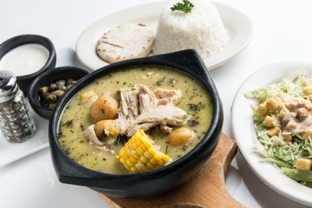 Ajiaco Colombian Chicken And Potato Stew Recipe