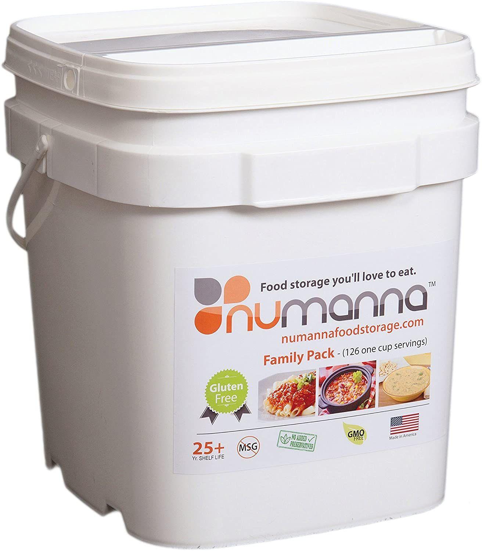 NuManna INT-NMFPG No Gluten Family Pack