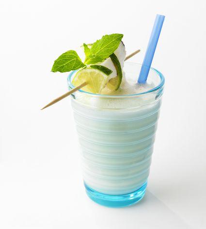 Frozen coconut smoothie (cocada Venezolana)