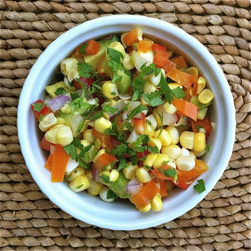 Picture of Corn Avocado Salad