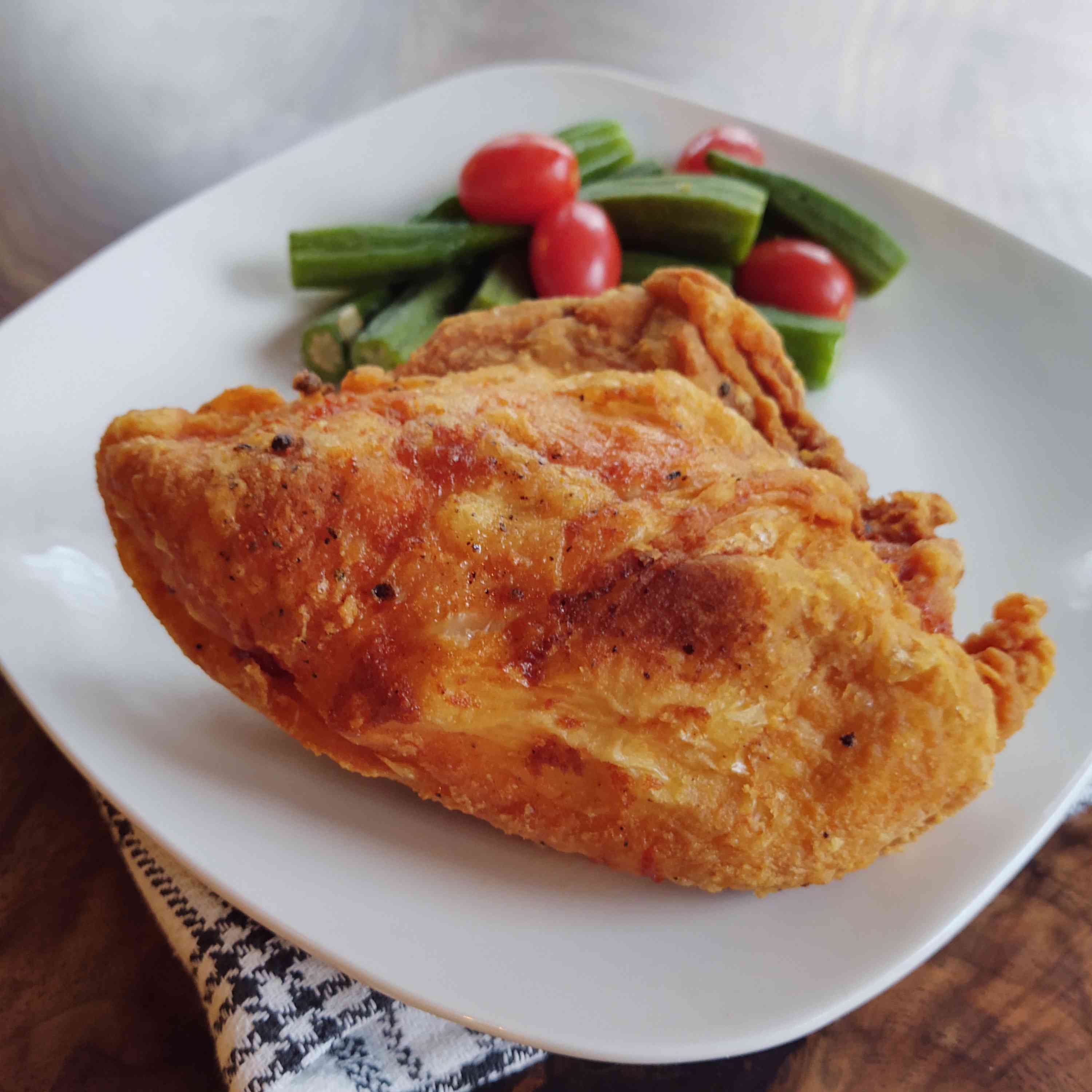 Simple Fried Chicken Breasts Tester Image