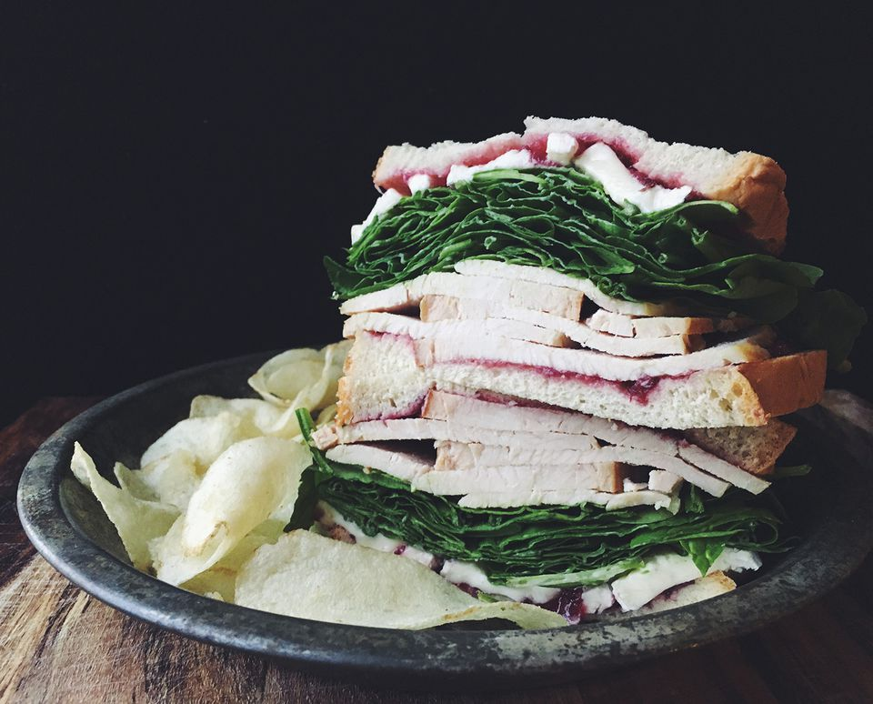 Turkey, Brie, and Cranberry Sandwich Recipe