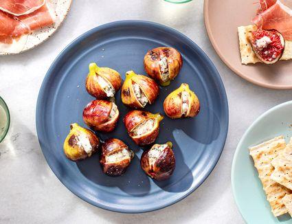 Blue Cheese-Stuffed Figs