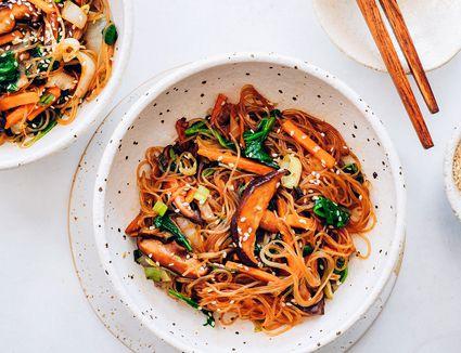 Korean Stir-Fried Noodles (Jap Chae or Chap Chae)