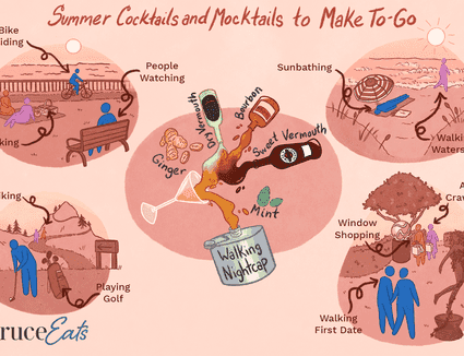 Summer cocktails to go