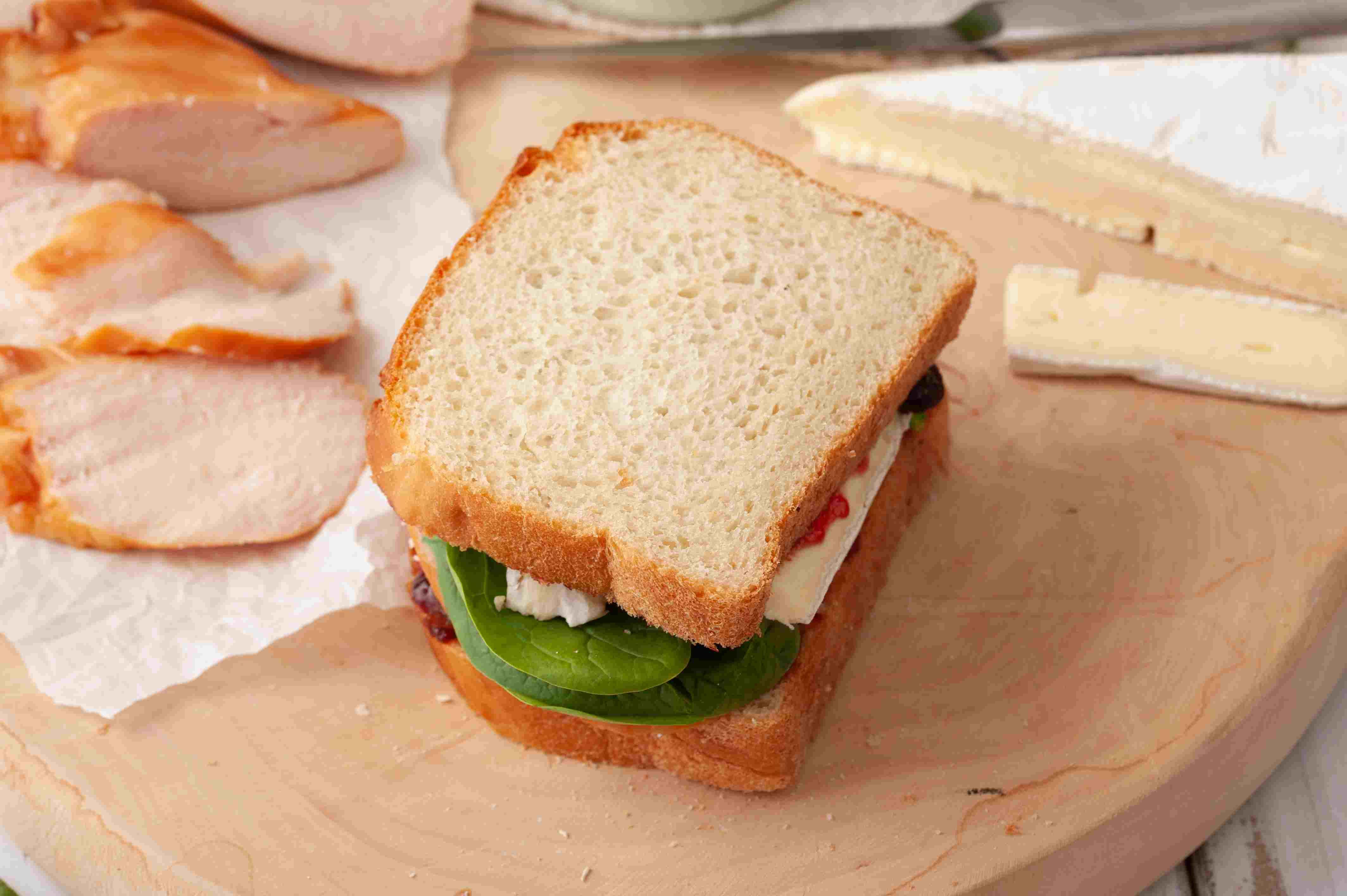 Top the sandwich
