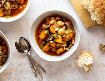 Slow Cooker Vegetable Stew