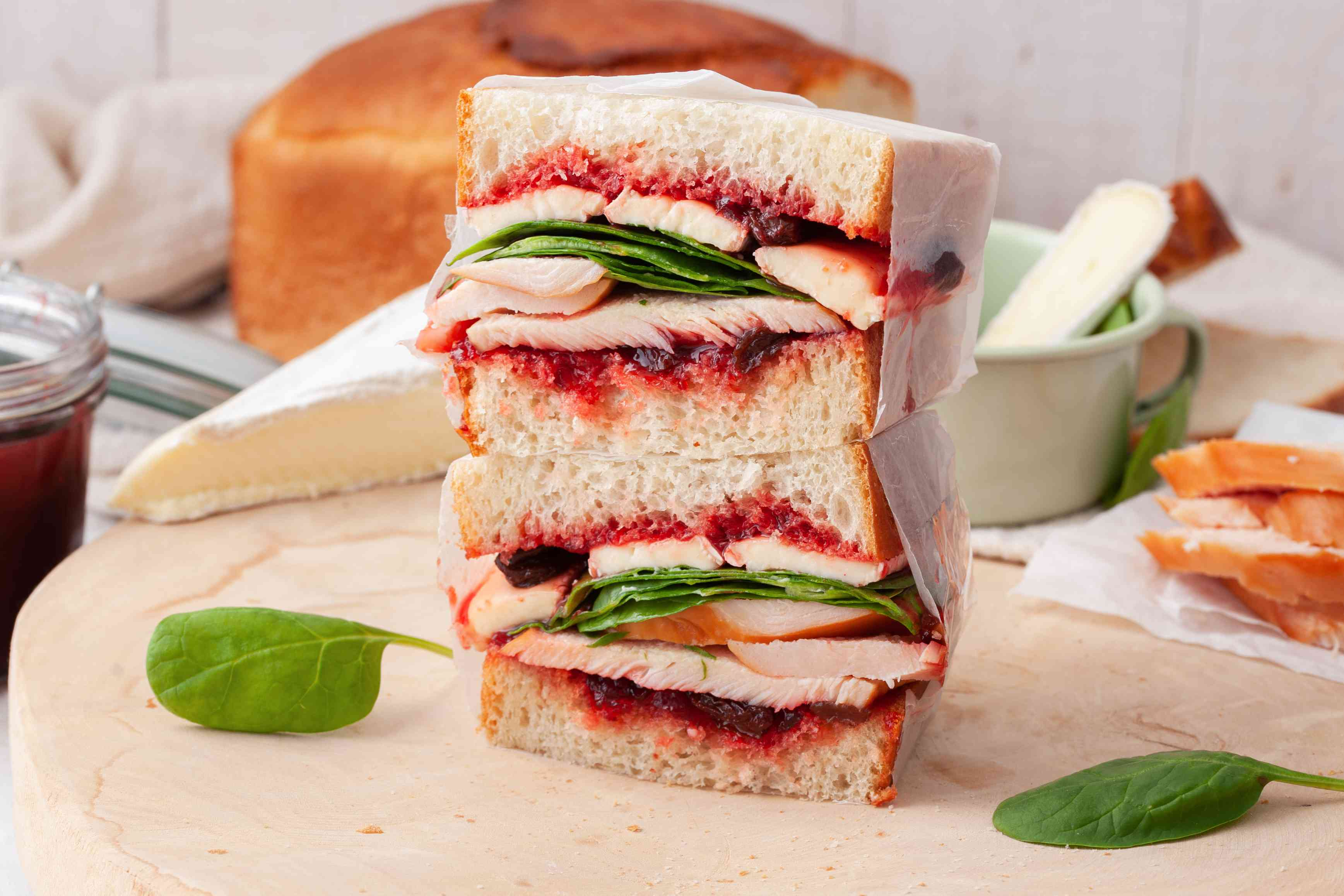 Turkey cranberry brie sandwich recipe