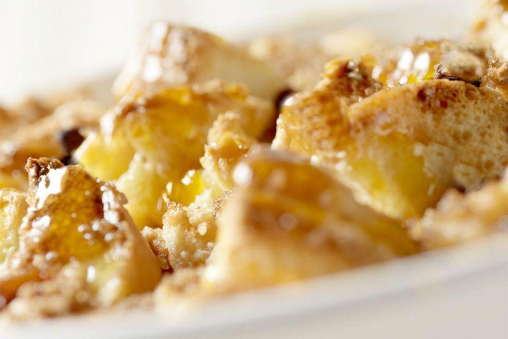 Brioche Bread Pudding With Vanilla Custard