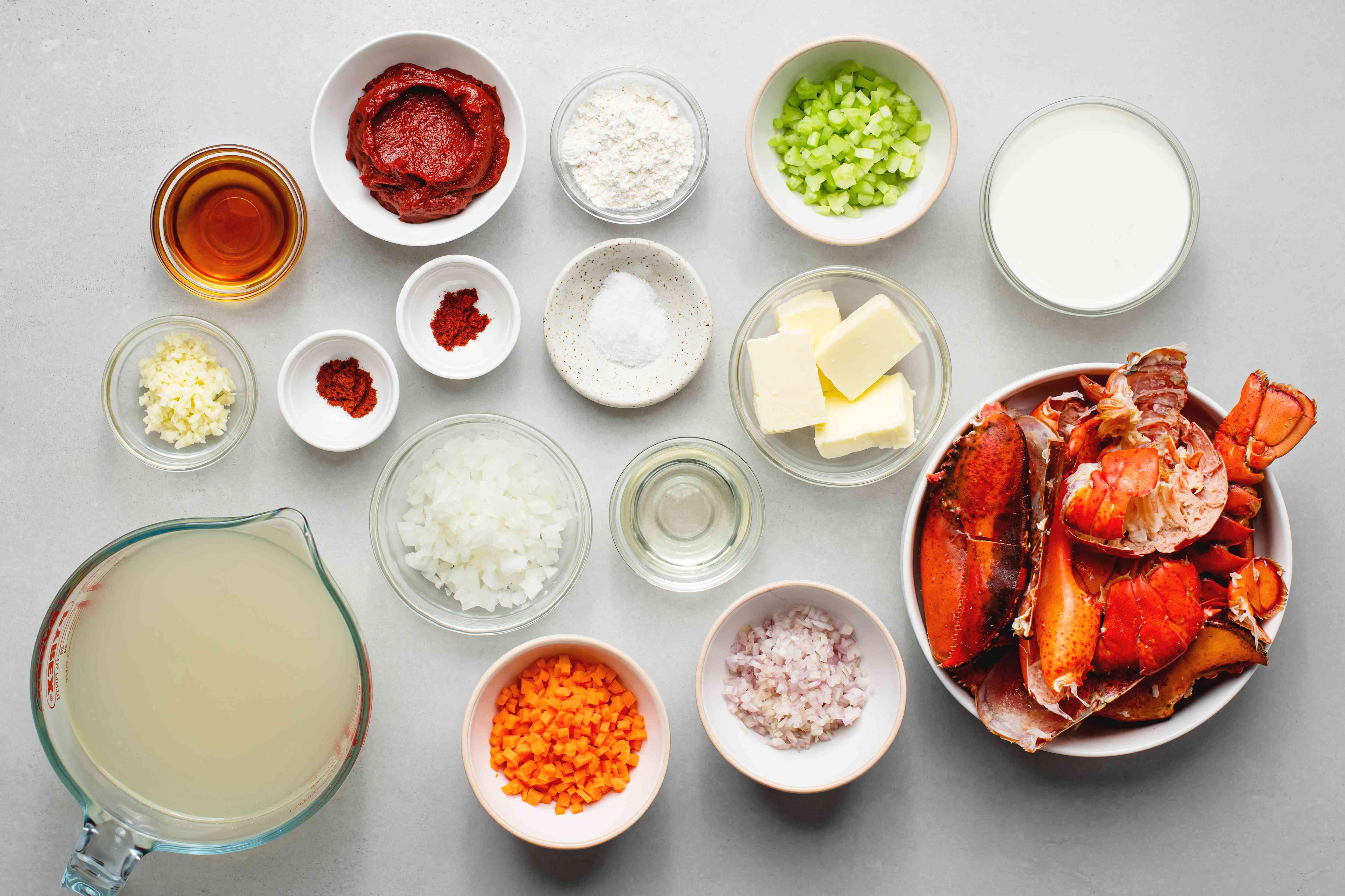 Emeril's Homemade Lobster Sauce ingredients