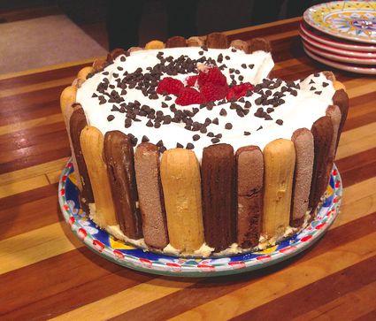 Pave de Chocolate - Brazilian Chocolate Torte