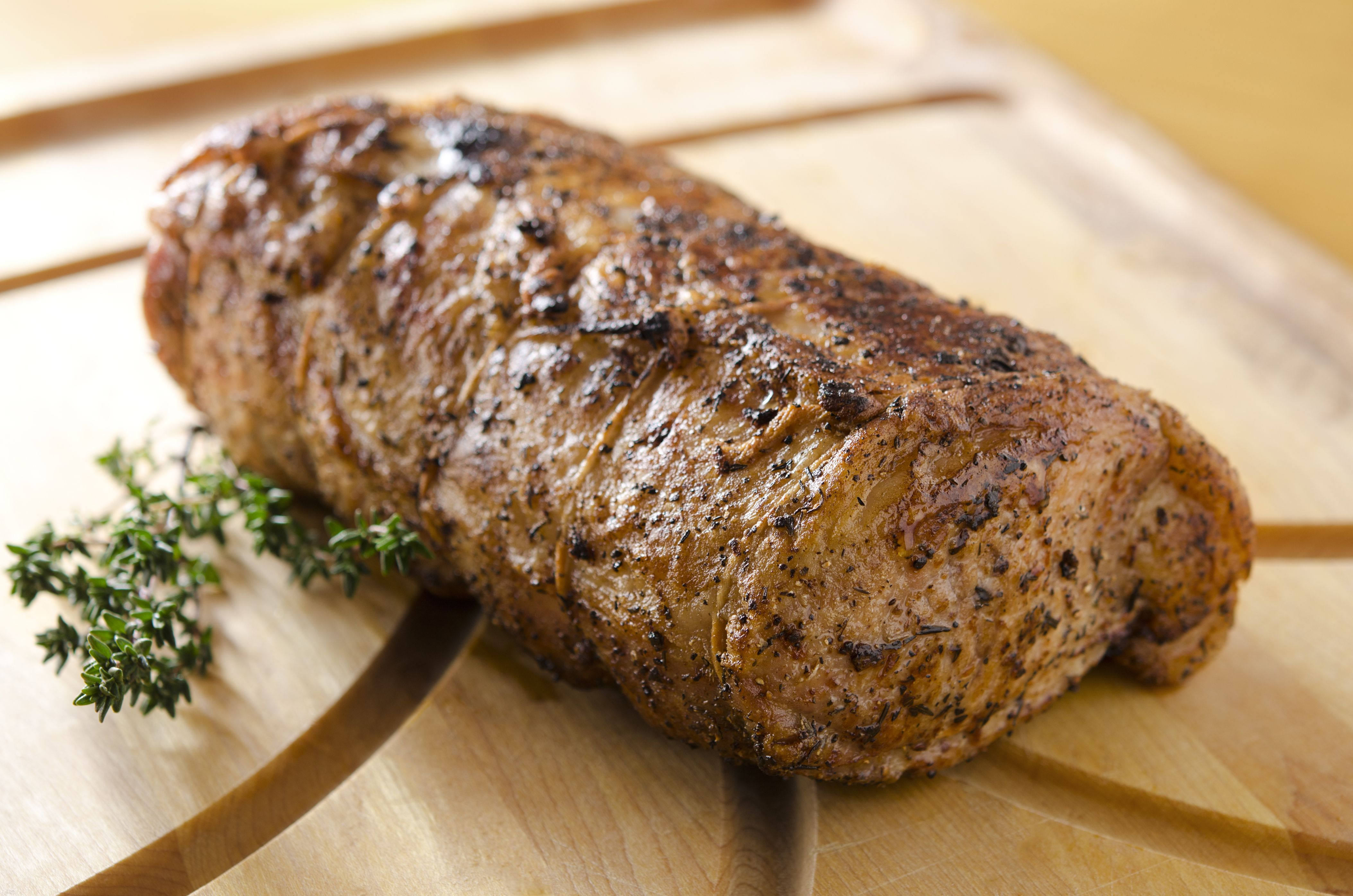 Grilled Herb and Honey Pork Loin
