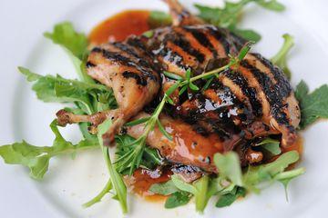 Roasted quail