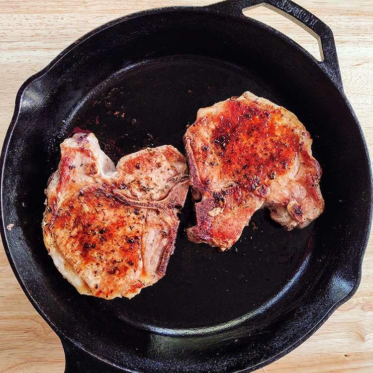 Oven-Roasted Pork Chops Tester Image