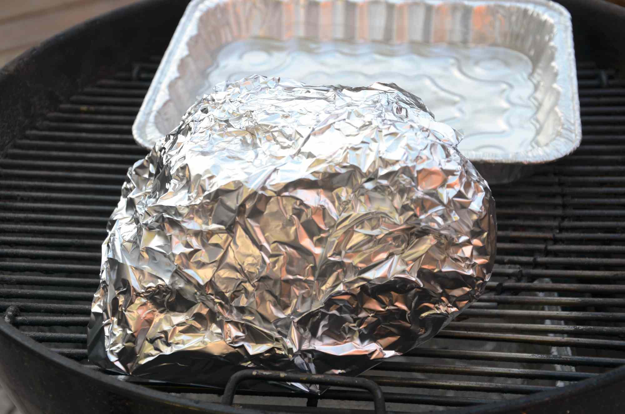 Wrapped Rib Roast