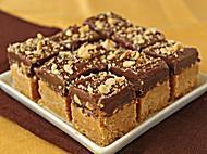 Nutella Peanut Butter Bars photo