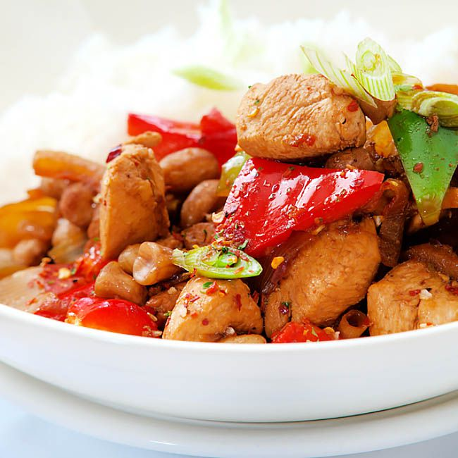 The best 10 Chinese chicken stir-fry recipes