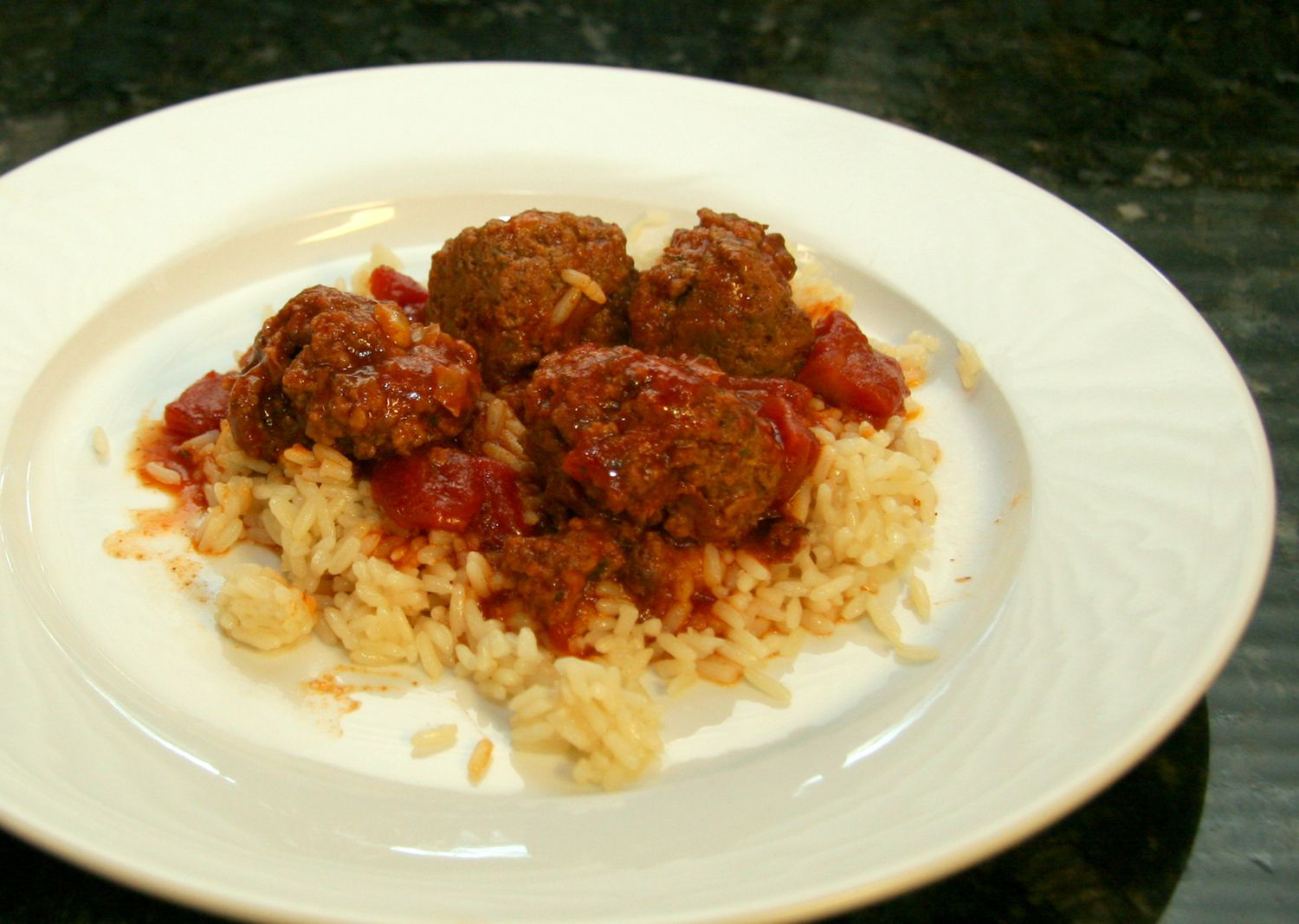 This Tasty Chili Meatballs Recipe Goes Great with Rice or Potatoes