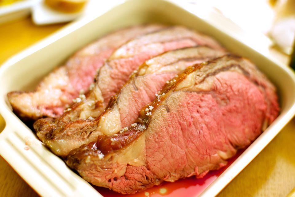 Classic Roast Prime Rib Of Beef Au Jus