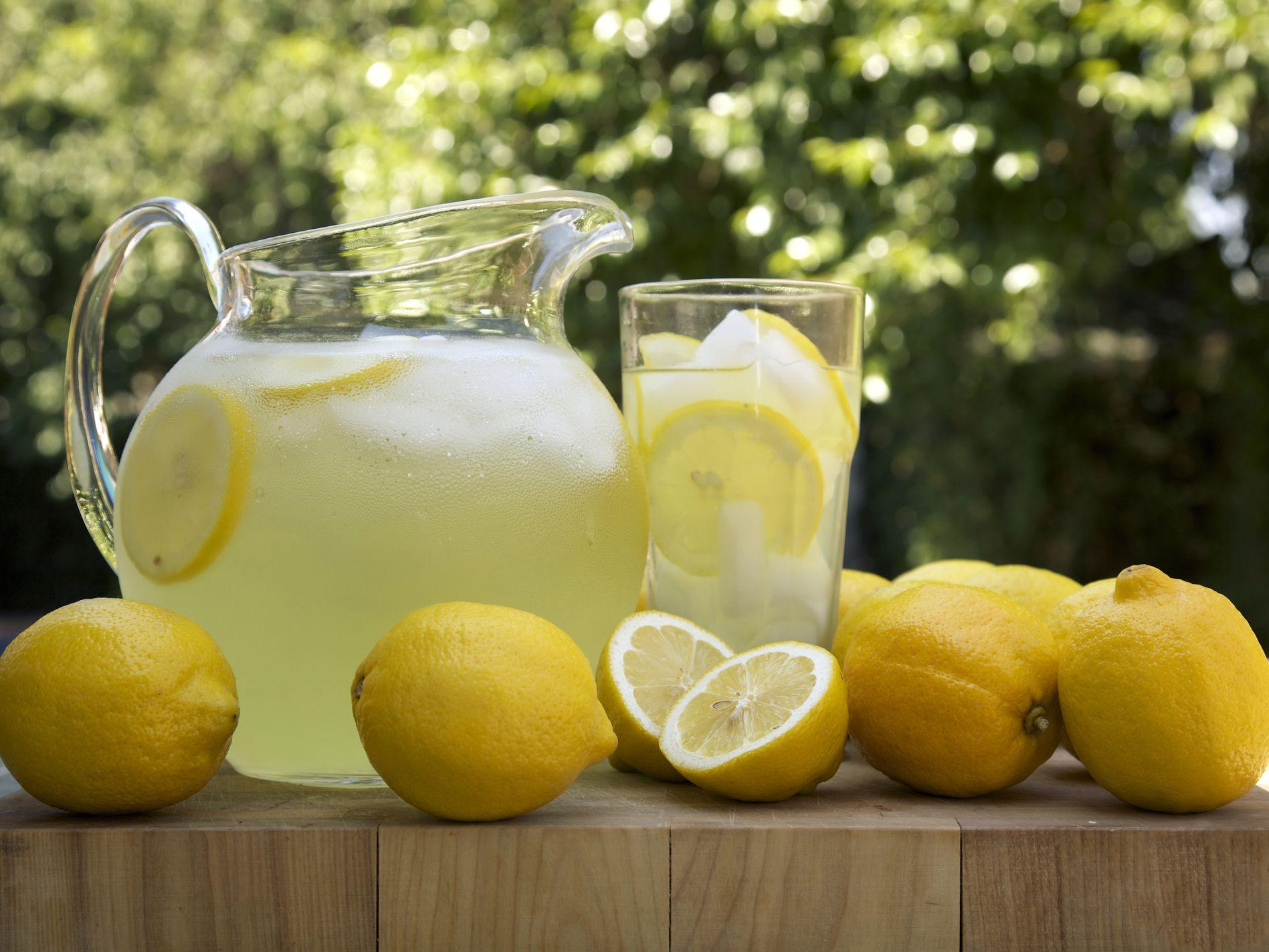 Homemade Lemonade Recipe With Variations