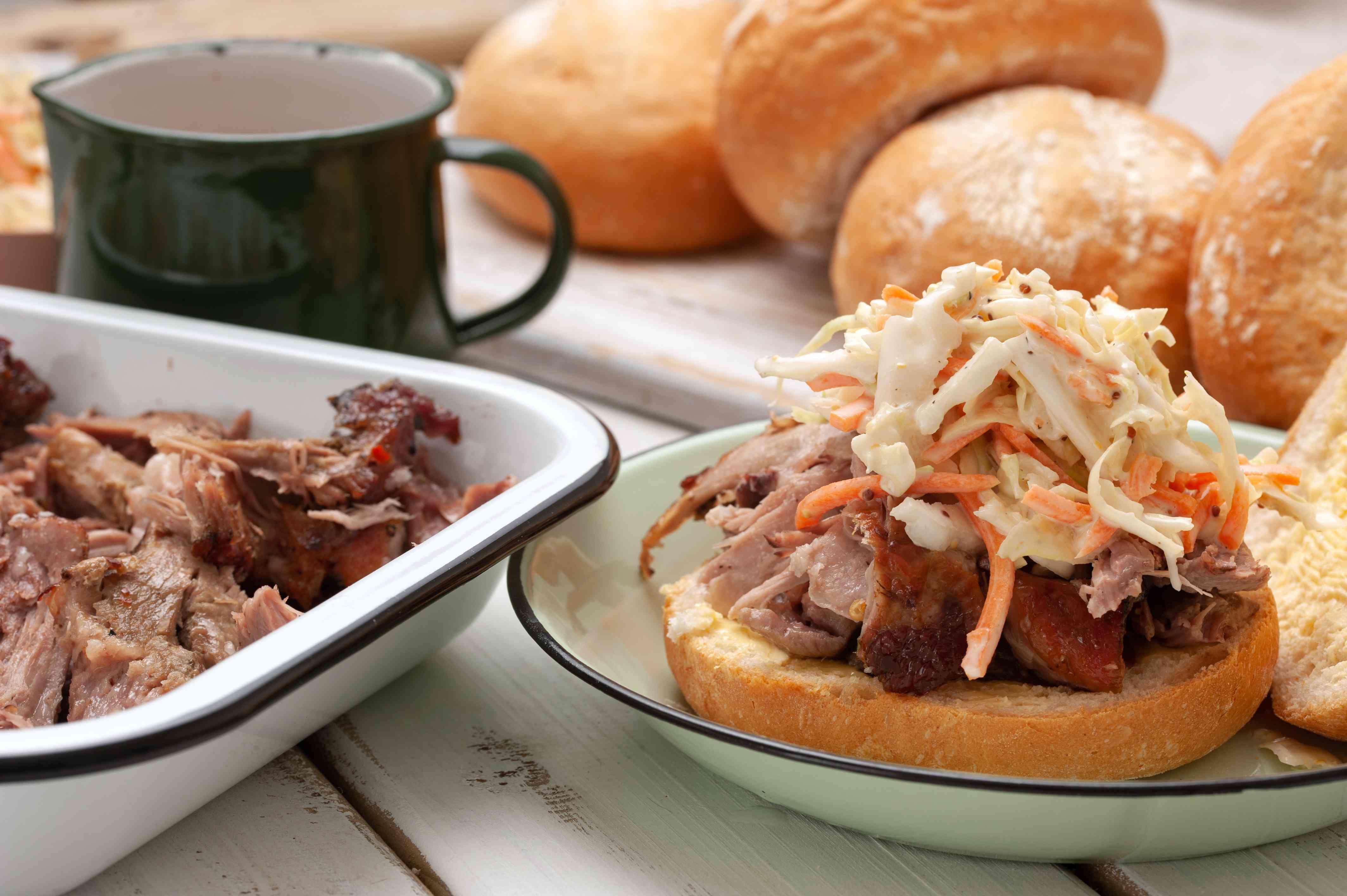 North Carolina style pulled pork