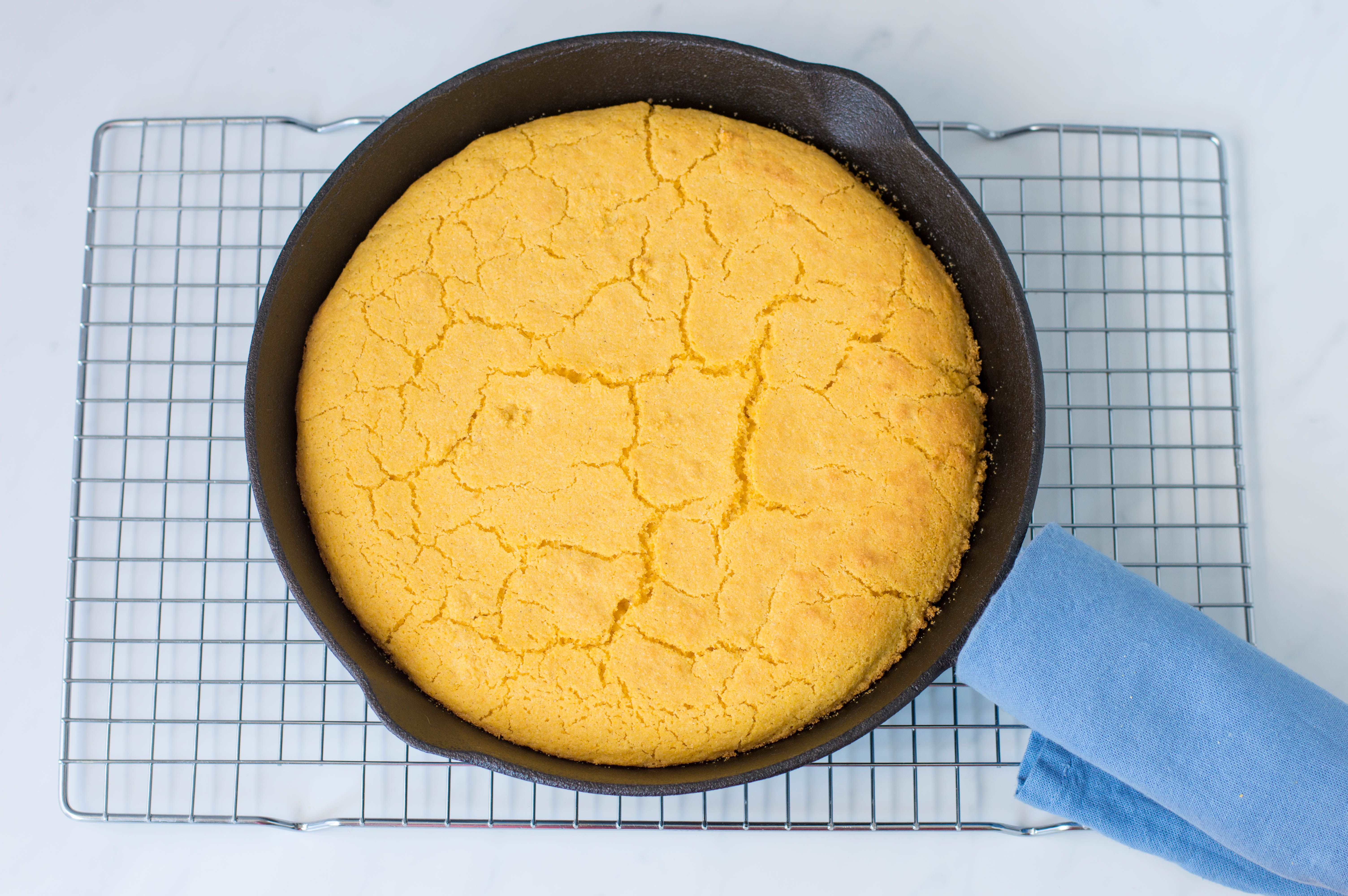 return skillet to oven and bake