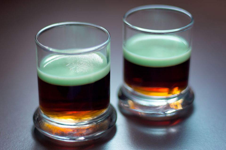 Guinness y jalea verde para el día de San Patricio