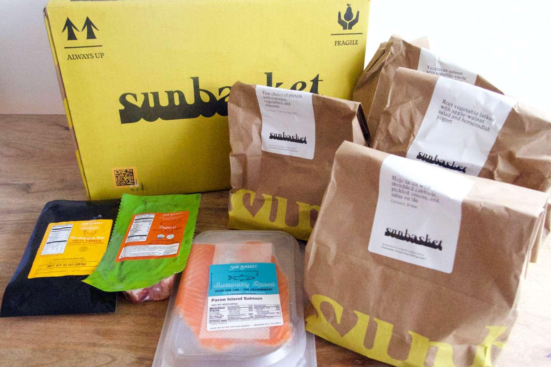 Sunbasket packaging