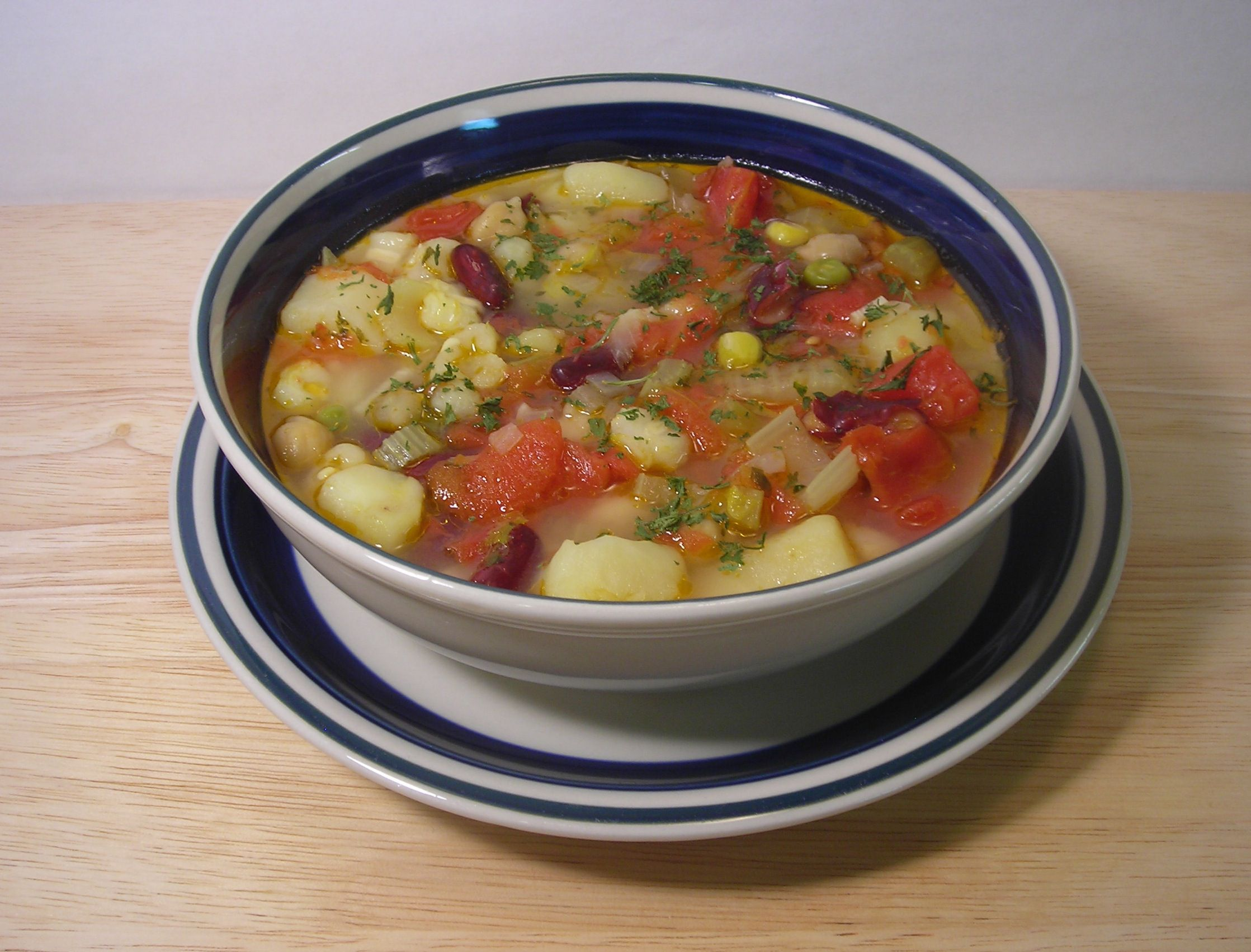 Quick and Easy Vegetarian Posole Soup With Hominy