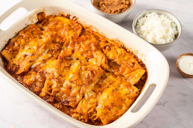 Pork Enchiladas